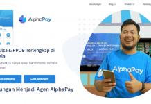 cara daftar menjadi agen pulsa di alphapay