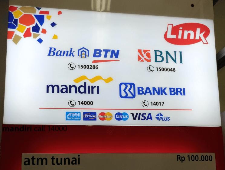 Ambil Uang Di Atm Link Bni Dengan Kartu Bri