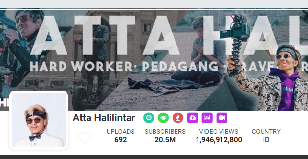 channel atta halilintar