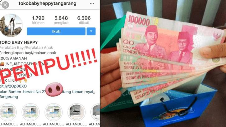 Penipu Di Instagram Sering Gonta Ganti Akun Ig