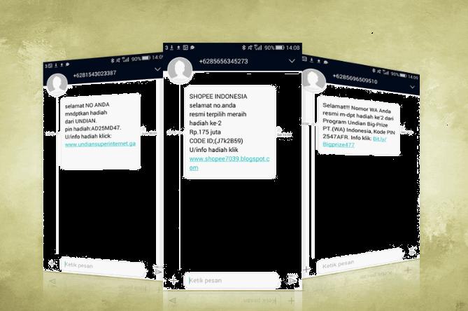 Inilah 5 Jenis Sms Penipuan Yang Sering Diterima