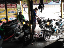tips sukses membuka usaha bengkel motor