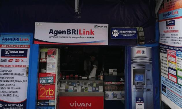 transfer ke bank lain lewat agen brilink