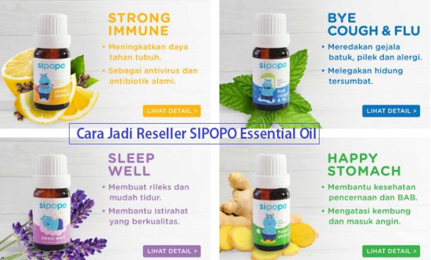 cara jadi reseller sipopo essential oil