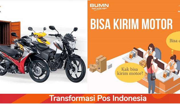 kirim sepeda motor lewat pos indonesia