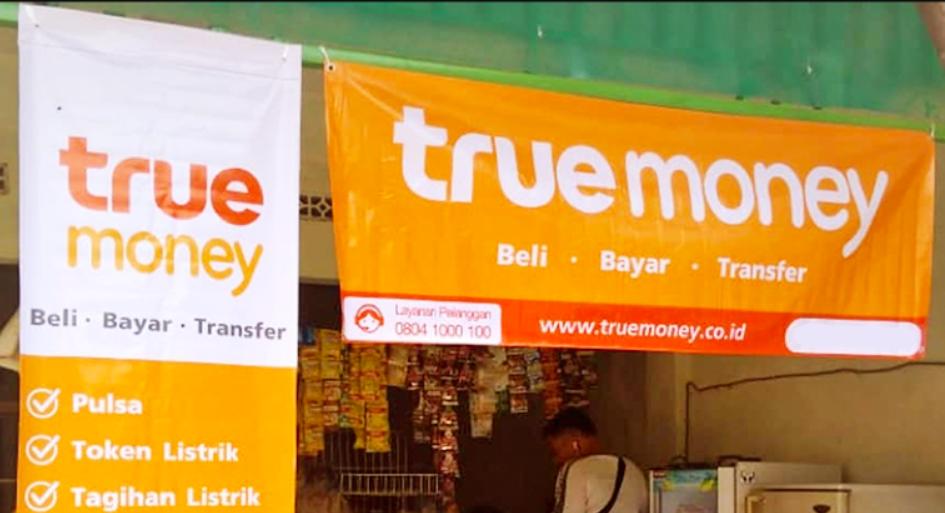 kirim uang lewat agen true money