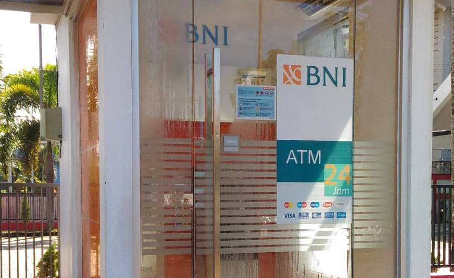 mesin atm bank bni